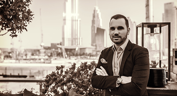 DAVID LESCARRET | General Manager, Infini Concepts, Dubai