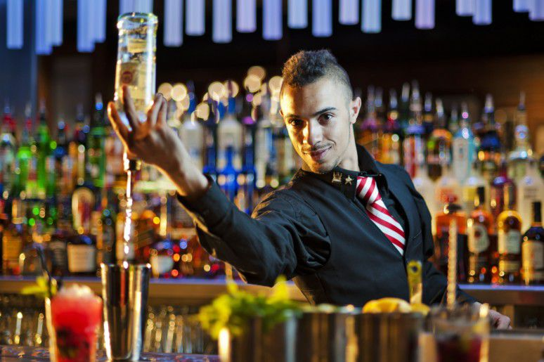 Nightclub bartender 02
