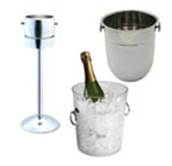 Wine Buckets, Stands and Chillers